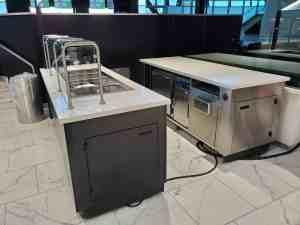 Stadium Mobile Concessions Cart Venues Food Beverage Allegiant Stadium Las Vegas Nevada 4