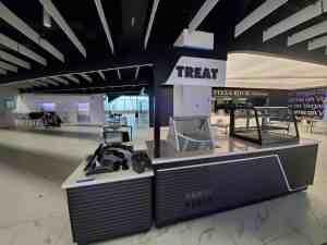 Stadium Mobile Concessions Cart Venues Food Beverage Allegiant Stadium Las Vegas Nevada 6