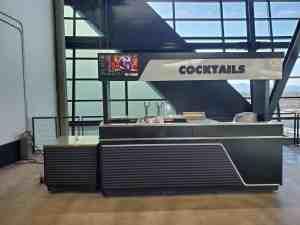 Stadium Mobile Concessions Cart Venues Food Beverage Allegiant Stadium Las Vegas Nevada 9