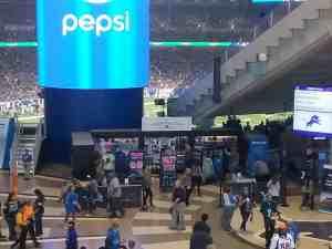 Stadium Retail Kiosk Venues Merchandise Ford Field Detroit Michigan 1