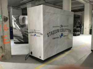 Stadium Retail Kiosk Venues Merchandise Ford Field Detroit Michigan 6