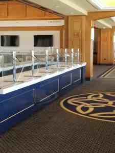 University Club Level Bar Carts Campuses HighEnd University Of Notre Dame SouthBend Indiana 4