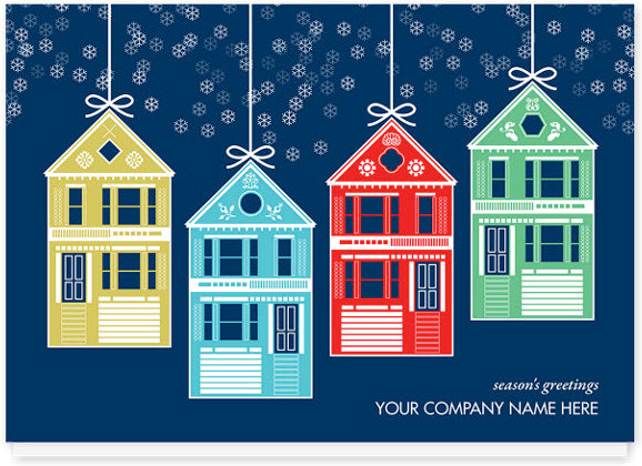 Fabulous Christmas Cards For A Real Estate Office