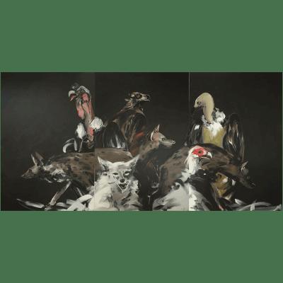 Apostolos Yayannos -Triptych