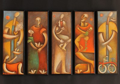 "Mattheos Christou galleryK exhibition - ""January"""