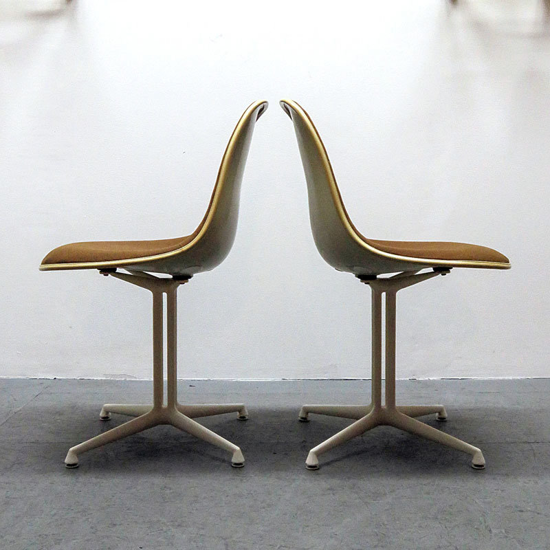 Set of Four Charles and Ray Eames La Fonda Chairs