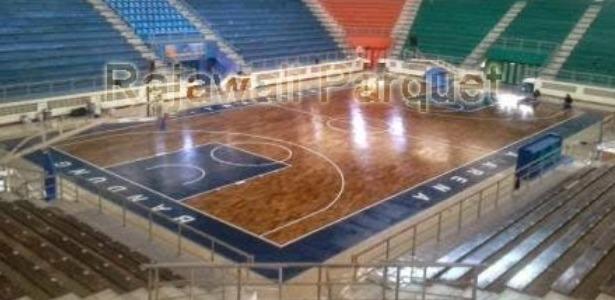luas lapangan basket
