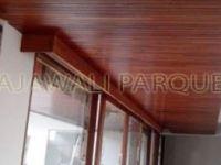 plafon kayu merbau