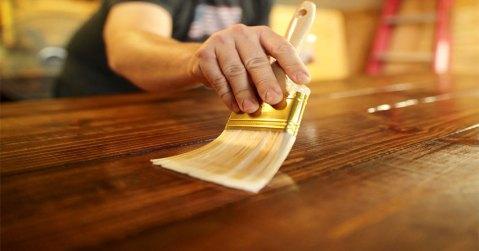 bahan baku finishing lantai kayu