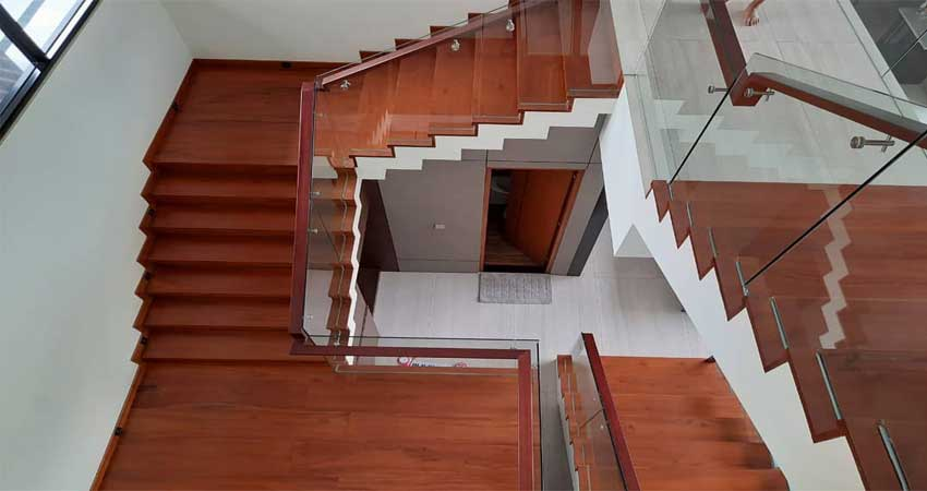 jual papan tangga merbau