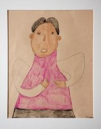 Prince - work on paper by Aba Garbrah