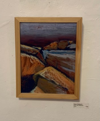 Jetty Red Seaweed, 2020 Pastel $300.00