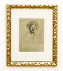 Untitled, c.1967 Charcoal Matted and framed $150.00 75% of the proceeds will be donated to a local animal rescue.