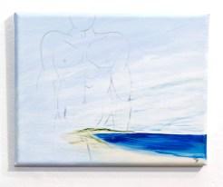 In the Sky #1 Acrylic on canvas $125.00