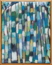 Madame Cezanne's Skirt Acrylic on canvas Framed $500.00