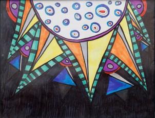Colorgaze Marker Framed $20.00