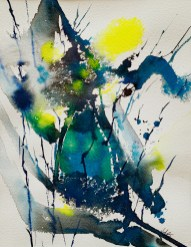 Sunlit, 2021 Watercolor Matted and framed $175.00