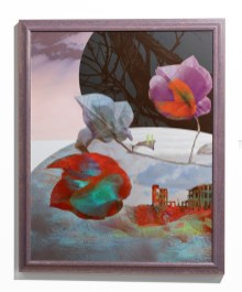 Acts of Creation, 2013 2D Assemblage on aluminum $425.00