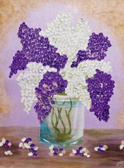 Maria Crocker Favorite Flower Acrylic Framed NFS