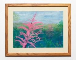 Summer Beauty Pastel Matted & framed $125.00