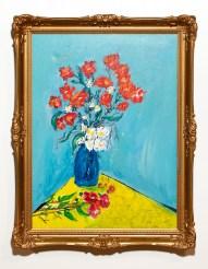 Untitled Acrylic on canvas Framed $125.00