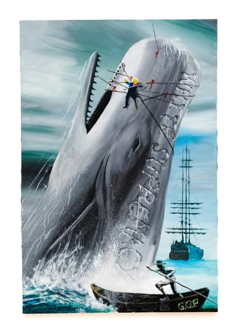 Untitled Acrylic on canvas $475.00