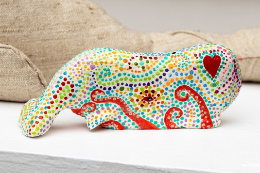 Day of the Dead Whale Mixed media SOLD!
