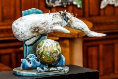The White Whale's Revenge Mixed media Articulated toy $1200.00