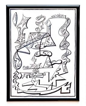 Clint Pollitt Untitled 5 Pen $250