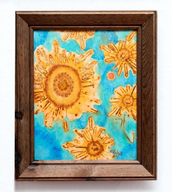 Chelsea Valois Untitled, 2021 Rust print & acrylic $300.00