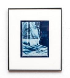 John Wojtowics Somewhere in New Bedford #1 Cyanotype $150.00