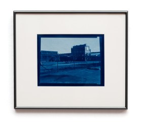 John Wojtowics Somewhere in New Bedford #3 Cyanotype $150.00