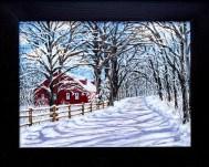 Anita Poyant A Winter Day Oil $450