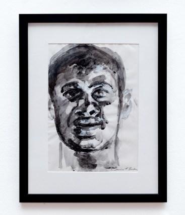 Cate Becker Untitled I Gouache & charcoal $200