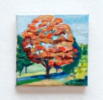 Stephanie J. Sherman Clasky in the Fall, 2020 Acrylic on canvas $100