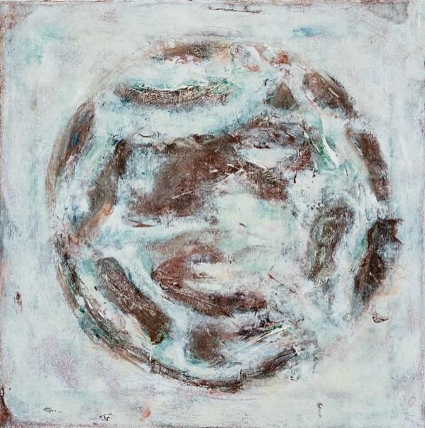 Mieko Asada Ceiling Panels 2 Oil on canvas $1500