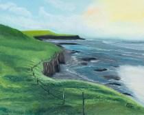 Claudia Barillari Irish Hills Oil on canvas $150