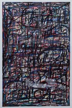 Clint Pollitt Untitled 8 Colored pen $400