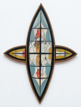 Clint Pollitt Untitled 9 Oil on board NFS