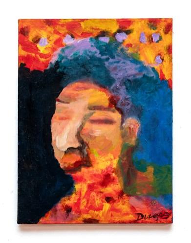 James Dugas Euphoria, 2020 Acrylic on canvas $200
