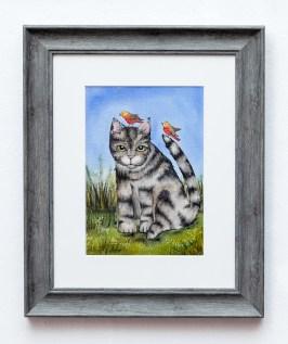 Lisa Goulart Whatever, 2021 Watercolor $160