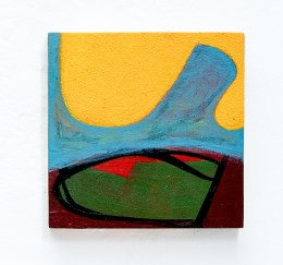 Suzanne Archibald Unexpected Boat Acrylic on wood $280.00