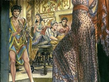 Viaggio etrusco. Sei affreschi a fumetti