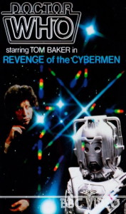 Revenge of the Cybermen VHS Cover