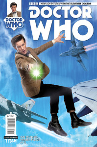 Doctor Who - New Adventures with the Eleventh Doctor #7 - Cover B