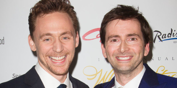 David Tennant soutient la campagne Hold Amy's Hand durant les WhatsOnStage Awards