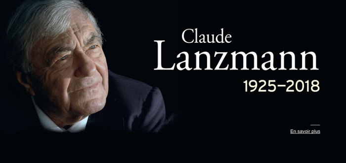 Disparition de Claude Lanzmann