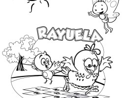 Dibujos De Gallinas Para Colorear Infantiles On Log Wall