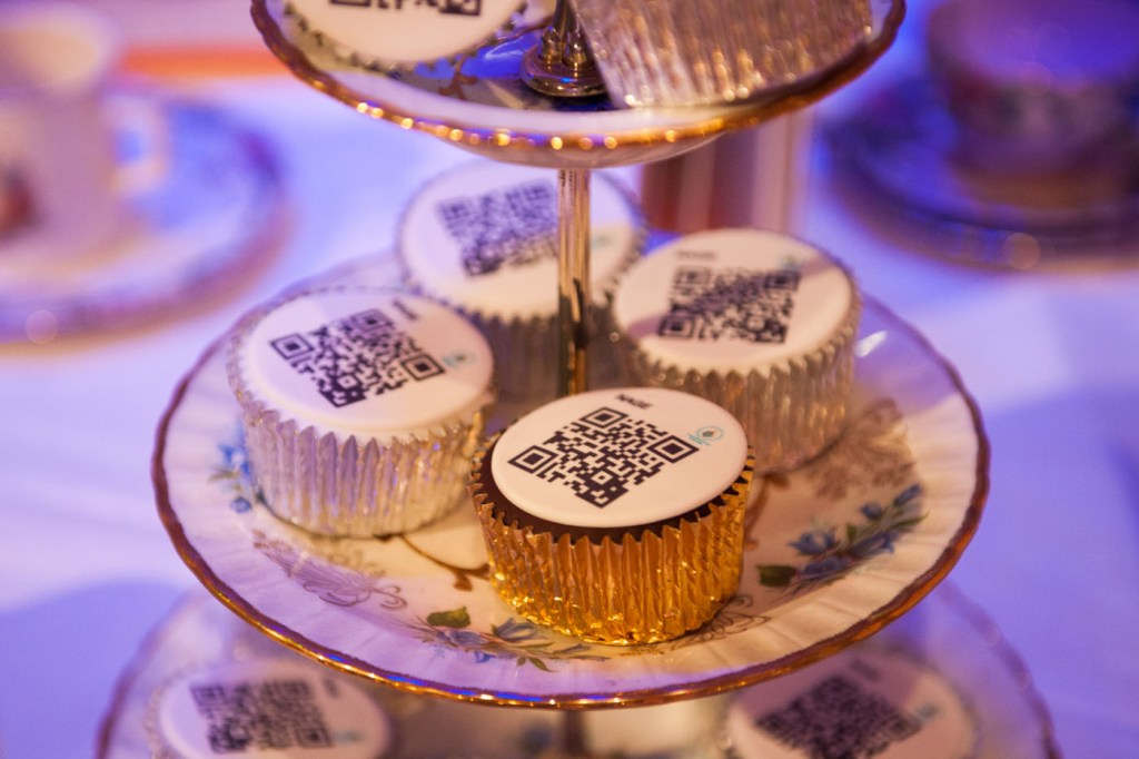 Cakes. And QR codes at BDA Live
