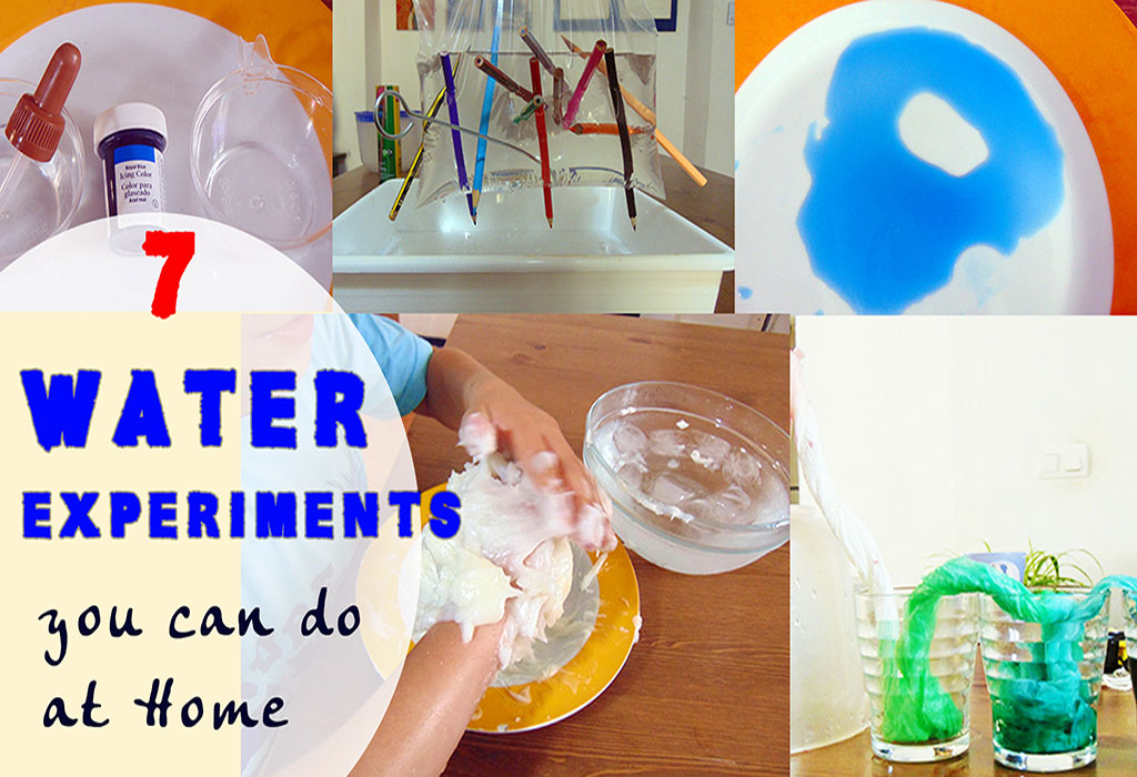 Who Else Wants To Do These Amazing Water Experiments For Kids?